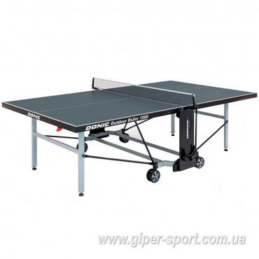Теннисный стол Donic Outdoor Roller 1000 / Антрацит