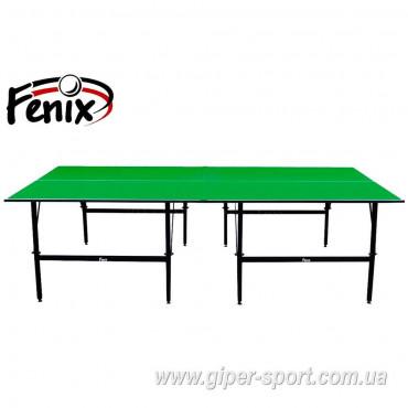 """Теннисный стол """"Феникс"""" Basic M16 зелёный"""
