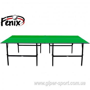 """Теннисный стол """"Феникс"""" Basic M19 зелёный"""