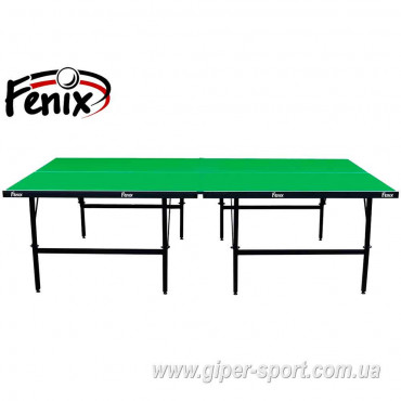 """Теннисный стол """"Феникс"""" Basic Sport M16 зелёный"""