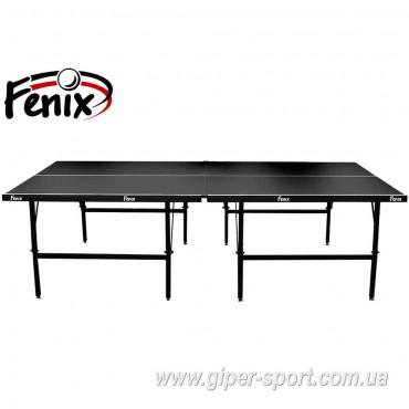 """Теннисный стол """"Феникс"""" Basic Sport M16 черный"""