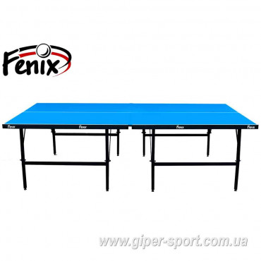 "Теннисный стол ""Феникс"" Basic Sport M16 синий"