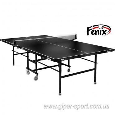 """Теннисный стол """"Феникс"""" Junior черный"""