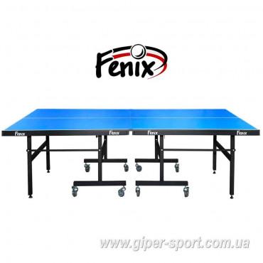 """Теннисный стол """"Феникс"""" Master Sport M16 синий"""
