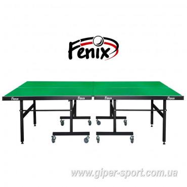 """Теннисный стол """"Феникс"""" Master Sport M19 зелёный"""