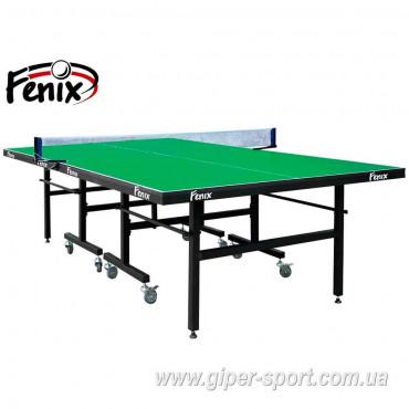 """Теннисный стол """"Феникс"""" Master Sport M25 зелёный"""