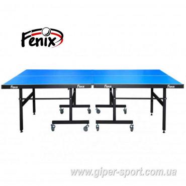 """Теннисный стол """"Феникс"""" Master Sport Outdoor F 18 синий"""