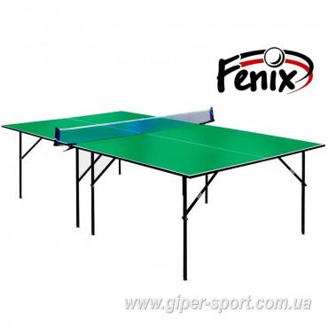 """Теннисный стол """"Феникс"""" Start M16 зелёный"""