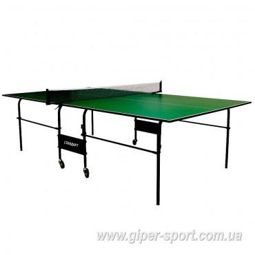 Теннисный стол «Standart» М16 зелёный